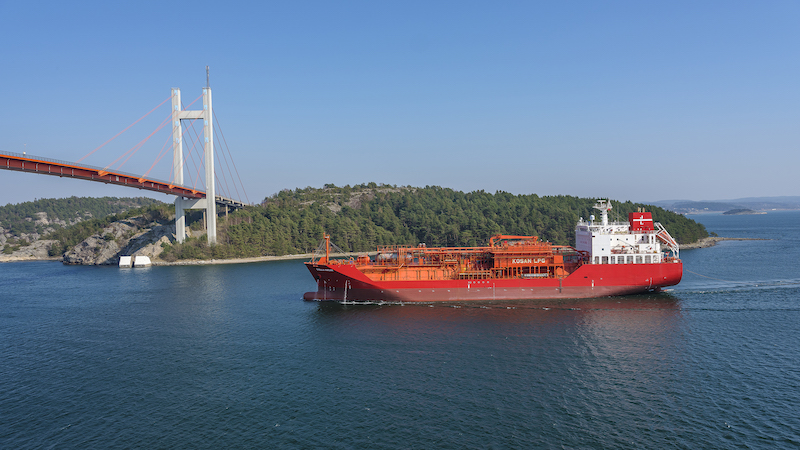 Teekay LNG takes ethylene fleet to Lauritzen pool
