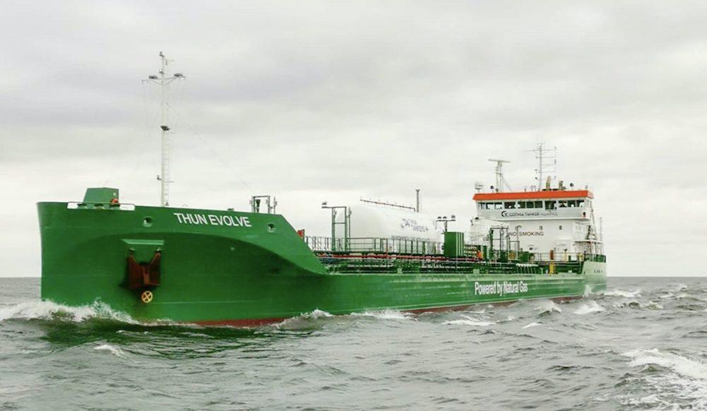 Gasum: Green gas shipping