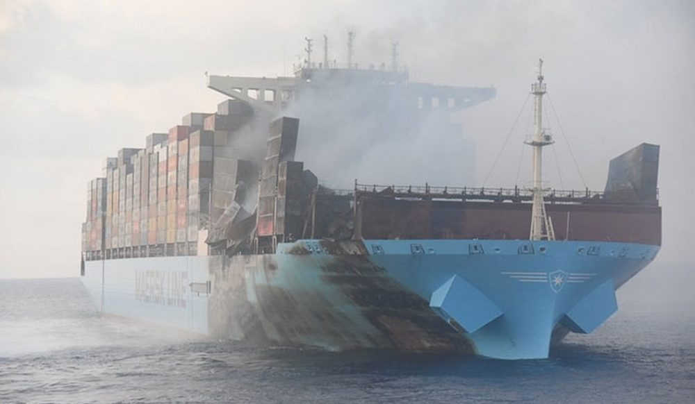 Ship fires: Chart a course