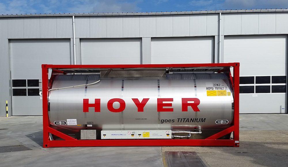 Hoyer's new Ti-tanks