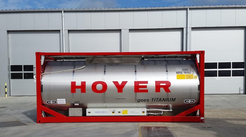 Hoyer's new Ti-tanks