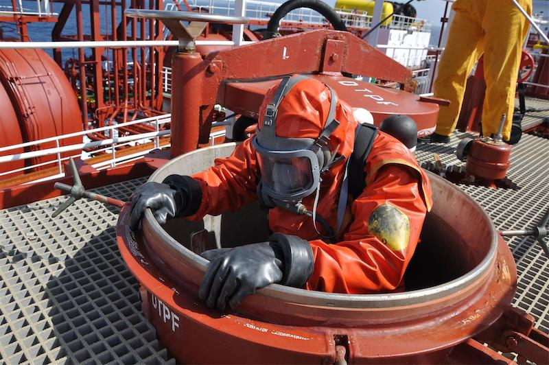 Confined space: Don't go there!