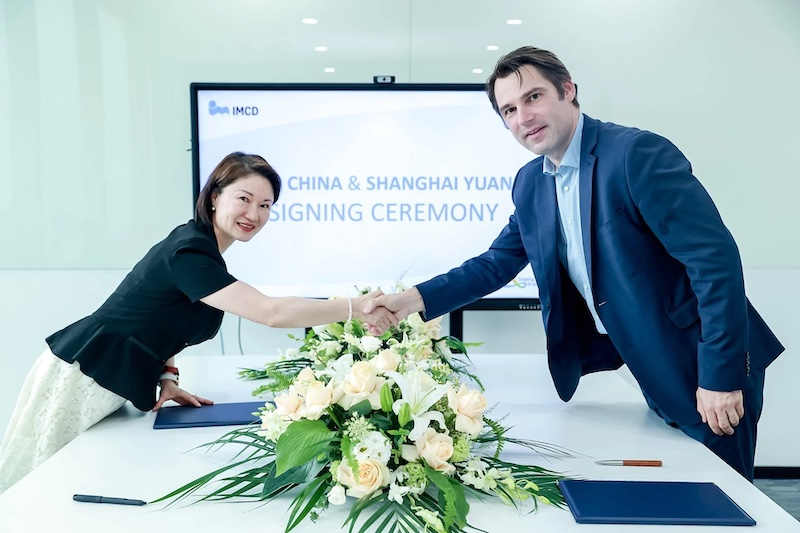 IMCD invests in China