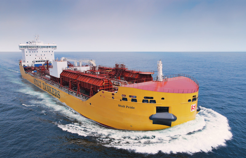 Chemical tankers: Size is important