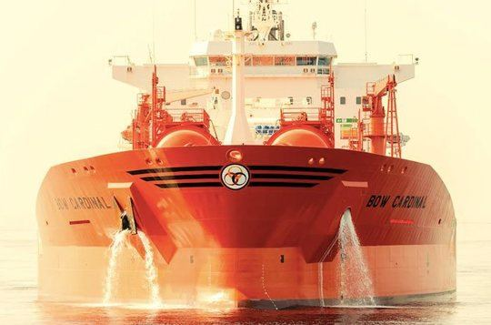 Odfjell out of gas